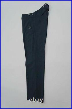WWII German DAK/Tropical Afrikakorps Luftwaffe blue grey trousers L/36