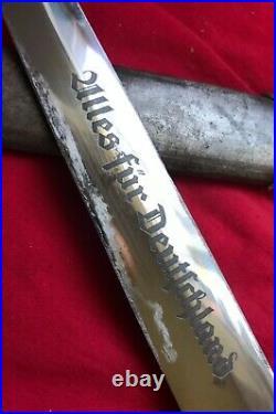 WWII German Dagger SA Dagger Original Gembruch Maker Nice Super Rare! 9 McSarr