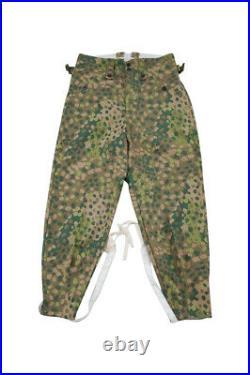 WWII German Elite DOT 44 camo M43 field trousers keilhosen M/34