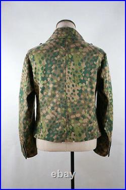 WWII German Elite DOT 44 camo panzer wrap/jacket 2XL