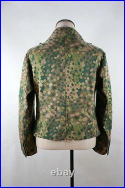 WWII German Elite DOT 44 camo panzer wrap/jacket S