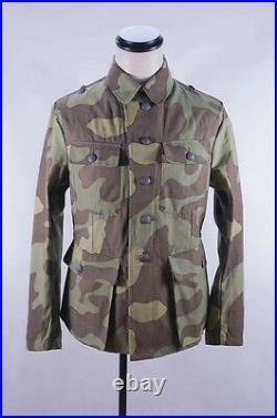WWII German Elite Italian camo M43 field tunic M