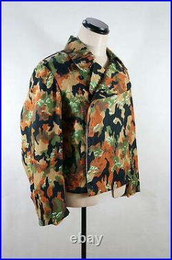 WWII German Elite leibermuster 45 camo panzer wrap/jacket XL