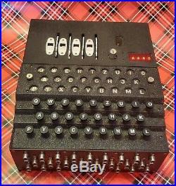 WWII German Enigma Machine Replica Cipher WW2 Model Design by Sam Ammons