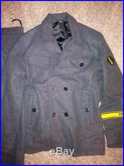 WWII German Heer Army Helferin Enlisted Wool Uniform US Women's Sz 10