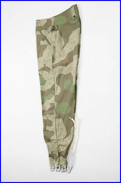 WWII German Heer Splinter camo M43 field trousers keilhosen L/36