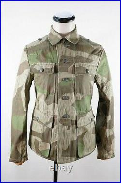 WWII German Heer Splinter camo M43 field tunic L
