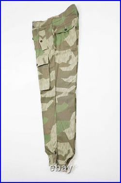 WWII German Heer Splinter camo panzer trousers 2XL/40