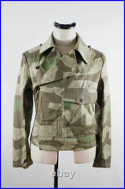 WWII German Heer Splinter camo panzer wrap/jacket XL