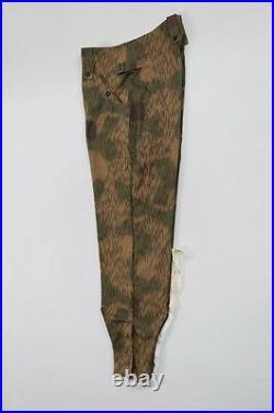 WWII German Heer Tan & water camo M43 field trousers keilhosen L/36
