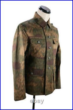 WWII German Heer Tan & water camo M43 field tunic M