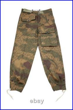 WWII German Heer Tan & water camo panzer trousers 2XL/40