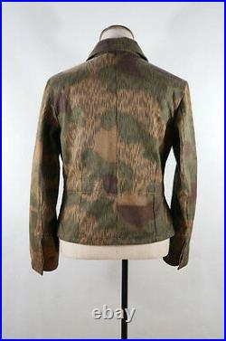 WWII German Heer Tan & water camo panzer wrap/jacket 3XL