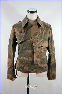 WWII German Heer Tan & water camo panzer wrap/jacket L