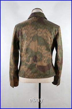 WWII German Heer Tan & water camo panzer wrap/jacket S