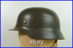 WWII German M35 Helmet ET64 Size 56 Leather Liner 1939