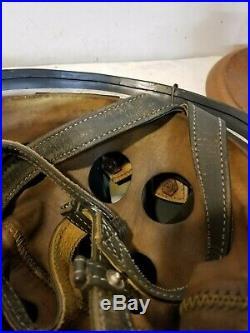 WWII German M38 Fallschirmjager Splinter Camo Paratrooper Helmet