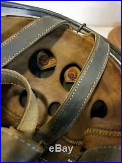 WWII German M38 Fallschirmjager Winter camo Paratrooper Helmet