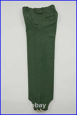 WWII German M40 Fallschirmjager (Parajumper) field wool jump trousers S/32 ONLY