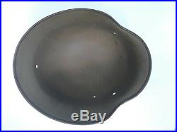 WWII German M40 helmet used by Norway untampered with Marked ET66
