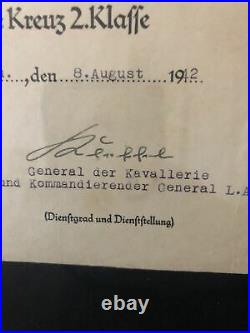 WWII German Memorabilia With Medal