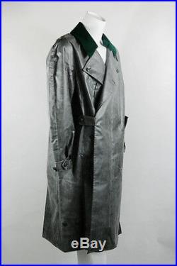 WWII German Motorcyclist raincoat rubber replica S