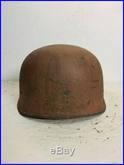 WWII German RARE M37 Fallschirmjager Afrika Sturm Regiment Paratrooper Helmet