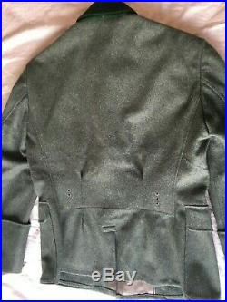 WWII German Reproduction Officer Tunic, by Janke, modified by On the March