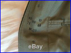WWII German Reproduction WH Heer Army M36 Tunic, Made in USA by On the March