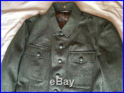 WWII German Reproduction WH Heer Army M42 Tunic, Made in USA by On the March