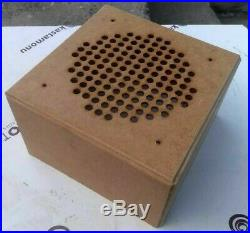 WWII German WL SpkI cardboard loudspeaker replica with Bluetooth device