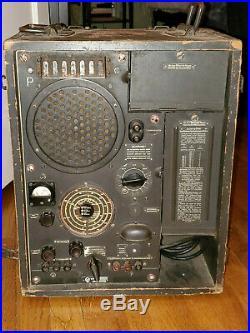 WWII German WR1/P RUDI Wehrmacht front line & entertainment radio