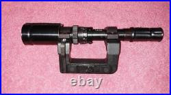 WWII German Zf41 Scope, Mount, Carry Can for K98 rifle, Repro, FREE S&H, NICE