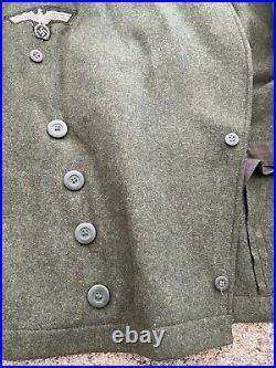 WWII Janke German Heer panzer wrap jacket XL