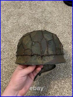WWII Repro Fallschirmjager Helmet