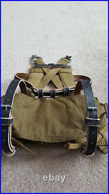 WWII WW2 ATF At The Front German Texled A Frame And Bag