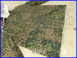 WWII WW2 GERMAN DOT 44 PEAS CAMO WINTER REVERSIBLE PARKA SIZE XXXL Repro