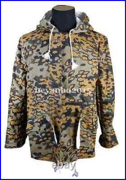 WWII WW2 German Elite Military Autumn Oak Leaf Winter Reversible Parka M