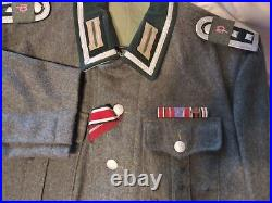 WW II German Uniform Tunic Size 40 Winter Type