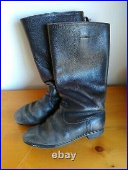 Weitschaft Original East German Army Boots US Size 10