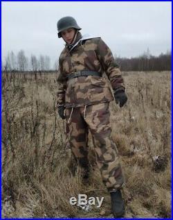 Winter jacket parka Inverted Splinter 1943-45 RARE PATTERN