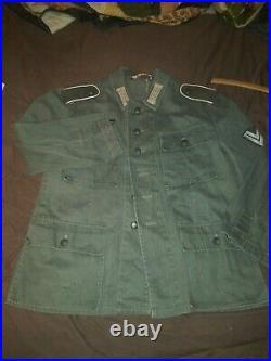 World War 2Heer Hbt Tunic Reproduction