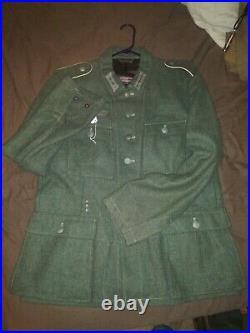 World War II Reproduction German M-43 Wool Tunic