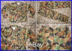 World War II WW2 Germany German M1945 M45 Leibermuster Camo Tunic Shirt Pants