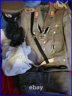 Ww2 Custom Made German Officer's Uniform