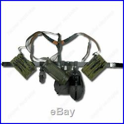 Ww2 German Army P38/40 Canvas Bag Equipment Solider Gear Military Reenactments