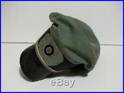 Ww2 German Assault Gun Officers Crusher Cap (copy)