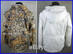 Ww2 German Autumn Oak Leaf Winter Reversible Parka Uniform Jacket Coat Size XXL