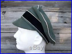Ww2 German Elite Officer Crusher Old Style With Cloth Visor! #40