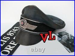Ww2 German Fallschirmjager Officer, Field Hat, Wool Made (nice Replica)